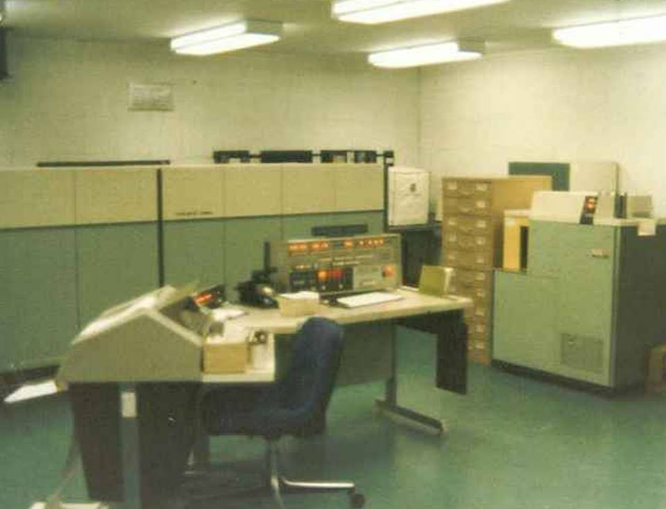 1974 – Univac 1050-II | One Texican in His Own Write